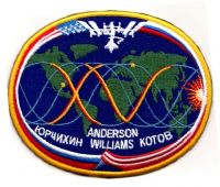International Space Station Expedition 15 Patch (with crew names)